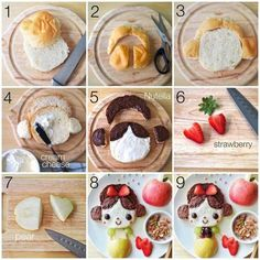 Creative breakfast