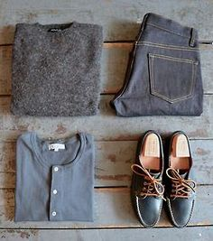 shades of stone, menswear - love that sweater