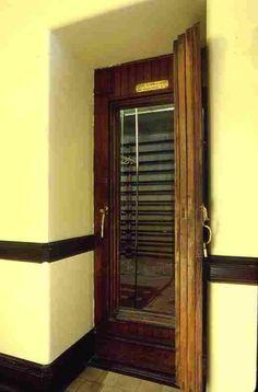 Biltmore house- basement- walk in Refrigerators