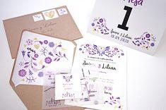 Invitaciones para bodas, XV años, bautizos Floral Wedding, Baptisms, Wedding Invitations, Weddings
