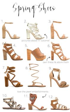 """spring sandals 2016 .. all lovely....but they do need inserts for 70% of wearers.....see...❤︎.❤︎...""""How to make high heels -boots and shoes - comfortable - https://www.youtube.com/watch?v=OwGBW17fdxU ...also see hopscotch in 4 inch heels!!...."""
