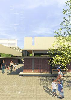 James Page Cape Town Architect - Randburg College Cape Town, College, Architecture, Design, Arquitetura, University, Architecture Illustrations, Design Comics