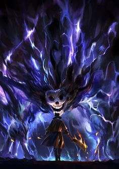 something I did for my friend's Bloodborne fanbook, Dark beast paarl is one of my favorite boss in Bloodborne