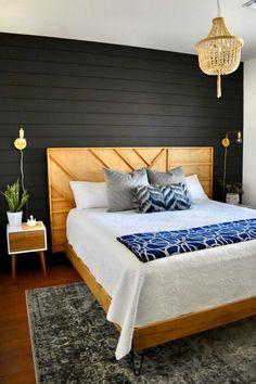 Home Interior Salas Modern Geo Headboard Ana White, Cheap Home Decor, Diy Home Decor, Decor Crafts, Furniture Projects, Diy Furniture, Home Interior, Interior Design, Interior Modern
