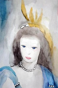 Collection of works by French artist Marie Laurencin
