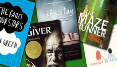 5 Books to Read Before They're Movies, including The Fault in Our Stars, The Giver, The Maze Runner, If I Stay, and Eleanor & Park. #ya #yalit #johngreen