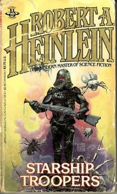 An incredible book butchered by the movie. Not only a great space combat yarn but add that he puts a political commentary on how government must balance.   Starship Troopers - Robert Heinlein