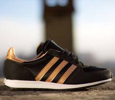 adidas Originals Adistar Racer Satin–Black-Rose Gold Metallic