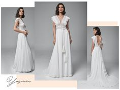 Collection 2019 - Creations Atelier Bridesmaid Dresses, Wedding Dresses, Formal Dresses, Collection, Fashion, Atelier, Bridesmade Dresses, Bride Dresses, Dresses For Formal