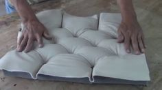 UPHOLSTERY BASICS-Diamond Tufting For Beginners-Part I