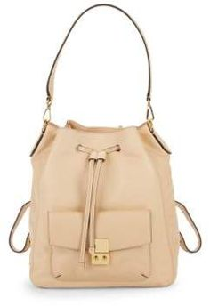 Alanna Convertible Leather Backpack. Stylebycreative · stylish bags ffb0a0bff5679