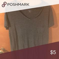 Tshirt xxl Charcoal grey tshirt. Tops Tees - Short Sleeve