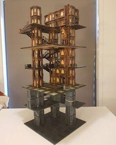 Instagram Game Terrain, 40k Terrain, Wargaming Terrain, Warhammer Terrain, Warhammer 40k, Minecraft, Sci Fi Miniatures, Fantasy Map, Tabletop Games