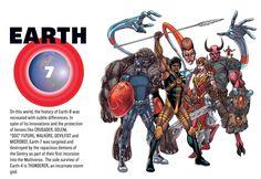 The-Multiversity-Guidebook Earth 7 Arte Dc Comics, Dc Comics Superheroes, Marvel Comics, Grant Morrison, Marvel 616, Geeks, Deadpool Funny, Dc Characters, Comics Universe
