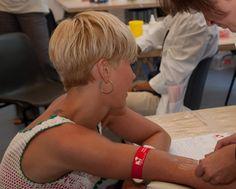 Wolke Hegenbarth ist Lebensspenderin bei der DKMS / Die Schauspielerin unterstützte Registrierungsaktion für leukämiekranken Berliner | GESUNDHEIT ADHOC
