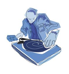Collecting Vinyl Records-for the latest vinyl record information Music Illustration, Photo Illustration, Hip Hop, Dj Logo, Vinyl Art, Electronic Music, Vinyl Records, Special Events, First Love