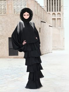UNDER YOUR ABAYA: Launch Collection of Abaya Couture: Edgy Abaya Fashion