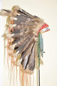 Relics of Indian Wars - Tuniques. Native American Headdress, Native American Beauty, Native American Artifacts, American Indian Art, Native American Indians, War Bonnet, Plains Indians, Feather Headdress, Indigenous Art