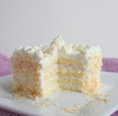Coconut Frenzy Cake (Low Carb and Gluten Free) - I Breathe... I'm Hungry...