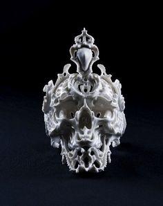Ceramic Skulls by Katsuyo Aoki by toybot studios, via Flickr