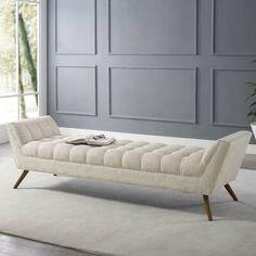 Living Room Bench, Living Room Furniture, Living Room Decor, Bedroom Decor, Bedroom Bench With Storage, Bedroom Benches, Bench Furniture, Home Furniture, Modern Furniture