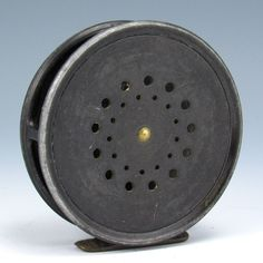 "Vintage Hardy Bros. LTD, 3 5/8"" model Perfect Fly Reel Fishing Alnwick England  #Hardy"