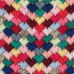 Hearts in multi-color