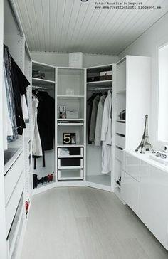 Walk in closet ikea corner space 46+ ideas #closet