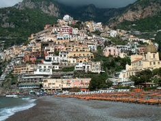 Lovely Positano, Italy. Can't wait to go back!