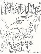 happy president day coloring pages february pinterest coloring presidents day and happy presidents day