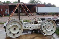Moon Buggy Prototype Found In Junkyard!