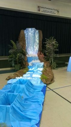 Everest VBS day one babbling brook