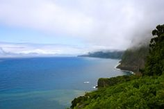 North coast of Madeira Island, a view from Chão da Ribeira