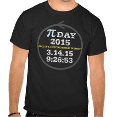 Pi Day 2015 (darker t-shirt)