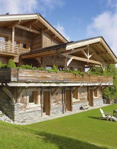 wooden homes chalet - Google Search