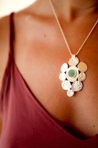 Necklace by Junam Jewelry.  silver junam jewelry necklace http://www.etsy.com/shop/JunamJewelry