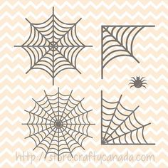 This listing is for a collection of spider webs in svg and png formats. These files are available for personal and commercial use, and can be used for projects such as:  Halloween Prints Halloween Wall art Halloween Scrapbooking Halloween stencils Halloween signs Halloween t-shirt logos Halloween Coffee mug logos Halloween Pillow case logos Halloween Iron-on transfers  These svg and png files have been created by me. They can be used for commercial purposes, I just ask that you do not…