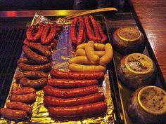 Our Sausage selection for your grilling pleasure. Best Dining, Beer Garden, Sausage, Menu, Grilling, Food, House, Menu Board Design, Meal