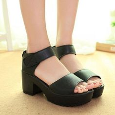 5c3a4f057671 Platform Sandals (2 Colors)