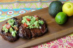 Mexican-Style Sirloin Steak with Avocado Salad  @Jeanine Malan & Zeal