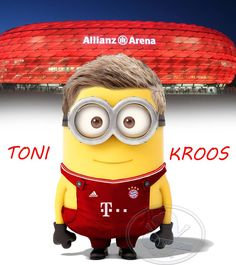 Toni Kroos Football Minion