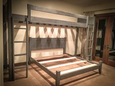 Where can I find someone who makes custom bunk beds? We make custom bunk beds of all sizes, including kings and queens. Bunk Bed Rooms, Adult Bunk Beds, Bunk Beds Built In, Cool Bunk Beds, Loft Beds, Diy Bedroom Decor For Teens, Bedroom Themes, Bedroom Colors, Bunk Bed Designs