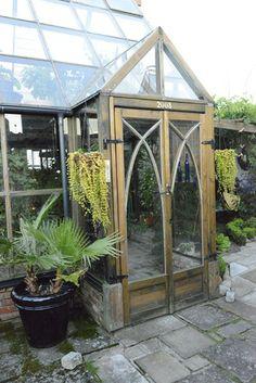 greenhouse entrance