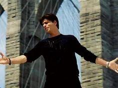 Shahrukh Khan - signature pose classic variation