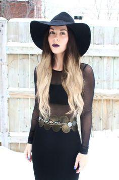 Pin by katia nikolajew // bewolf fashion on - - all black//fashion inspo. Modern Witch Fashion, All Black Fashion, Grunge Fashion, Boho Fashion, Magic Women, Black Magic Woman, All Black Looks, Wearing Black, Style Me