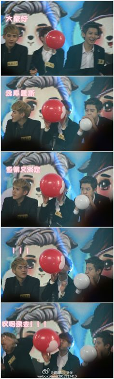Extra for this funny/cute moment of KRIS!! <3