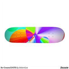 Re-Created DOTS Skateboard Decks #Robert #S. #Lee #skateboard #board #decks #skater #design #colors #customizable #re-created