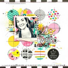 #papercrafting #scrapbooking #layouts - by Missy Whidden - Scrapbook.com