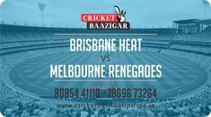Cricket Baazigar Provide 100% Expert Cricket Match Prediction and Cricket Betting Tips Free Brisbane Heat vs Melbourne Renegades #TodayMatchPrediction #CricketBettingTips #dream11 #ballebaazi #fantasycricket #baazigar