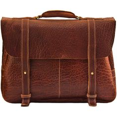 5d8185bcf3 American Bison Professor s Brief - American Made Leather Bags